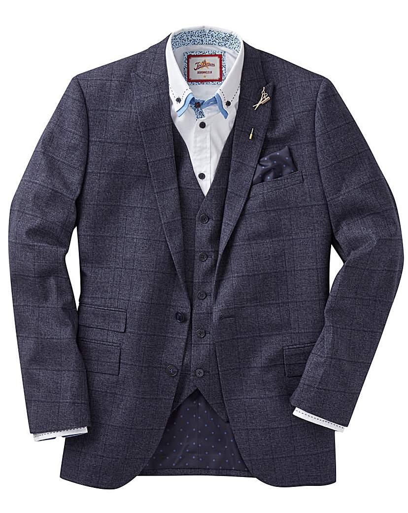 Image of Joe Browns Melange Check Suit Jacket Lon