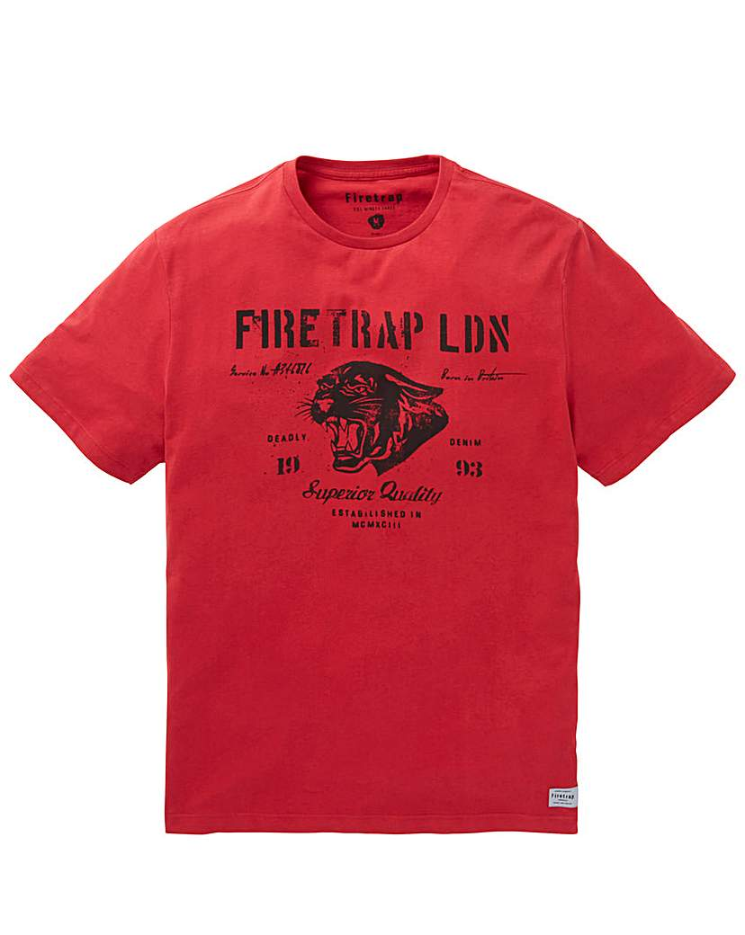 Firetrap HONGO T-Shirt Regular