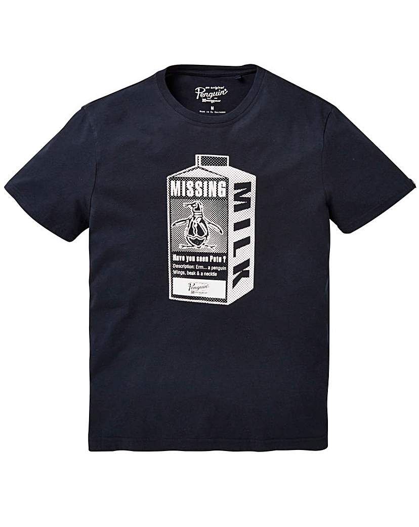 Image of Original Penguin Missing Pete T-Shirt L