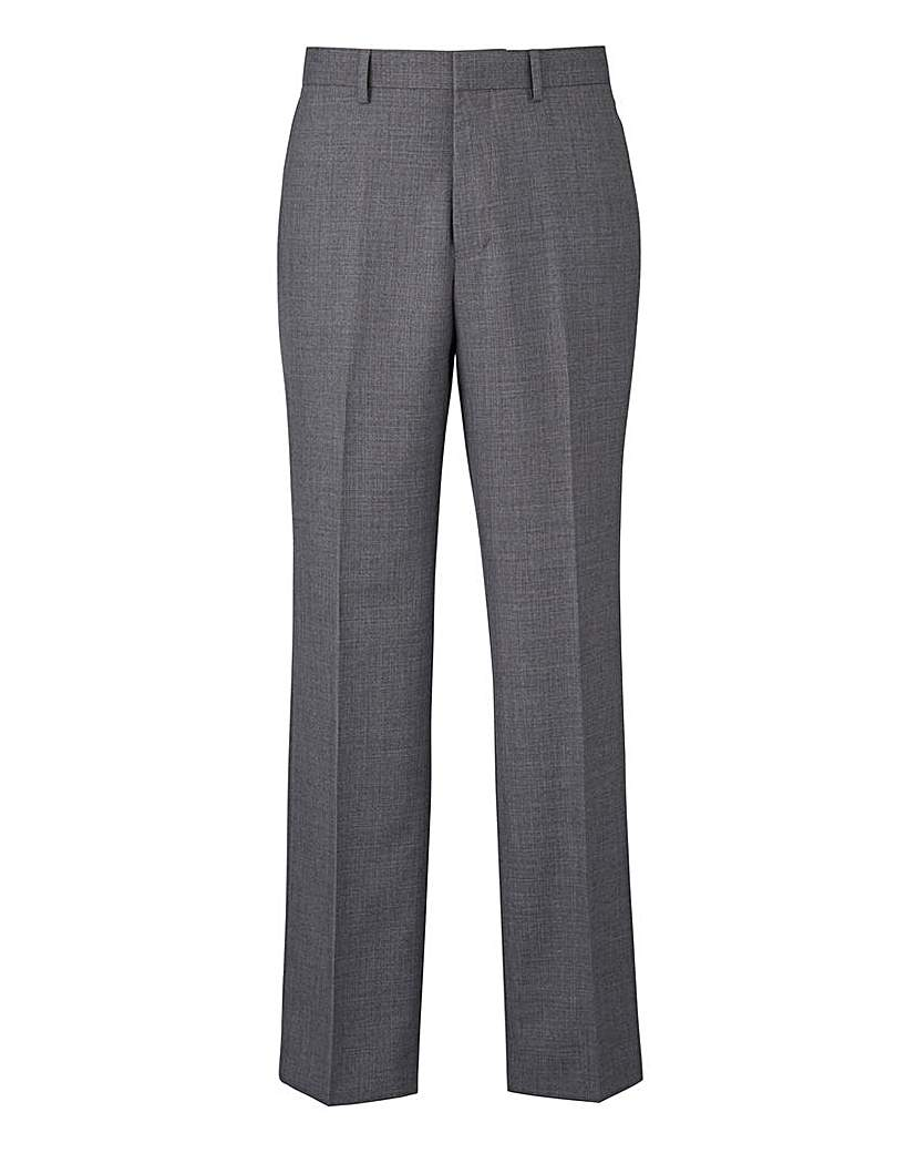 Image of Burton Textured Suit Trousers 30 In