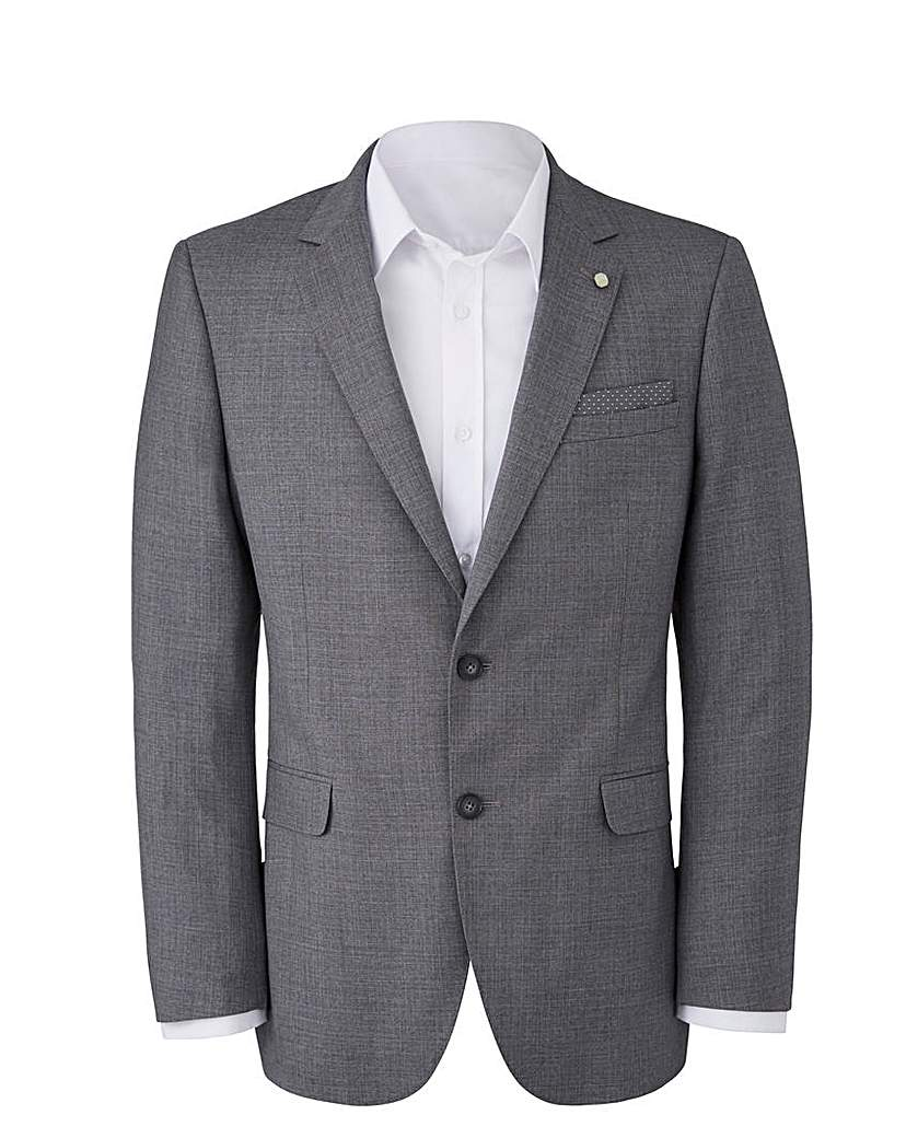 Image of Burton Textured Suit Jacket Reg