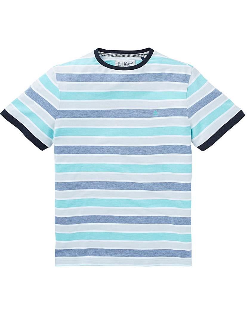 Image of Original Penguin Birdseye Block T-Shirt