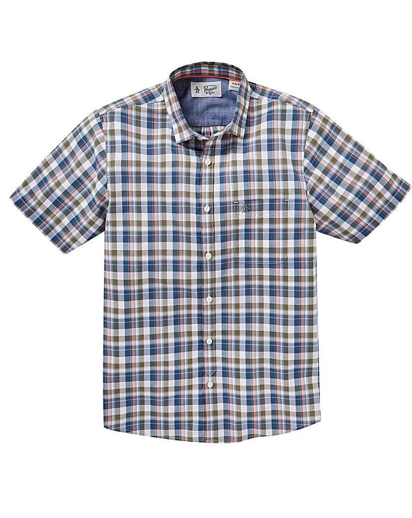 Image of Original Penguin Madras Check Shirt