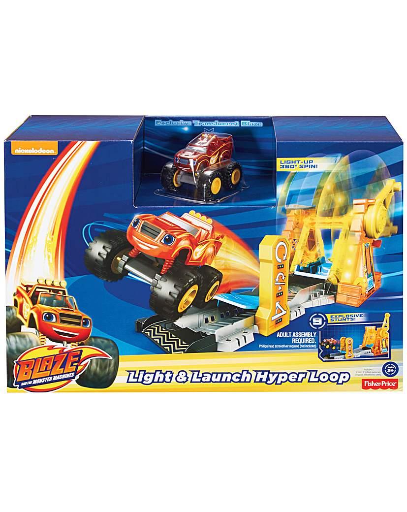 Image of Monster Machines Hyper Loop Playset