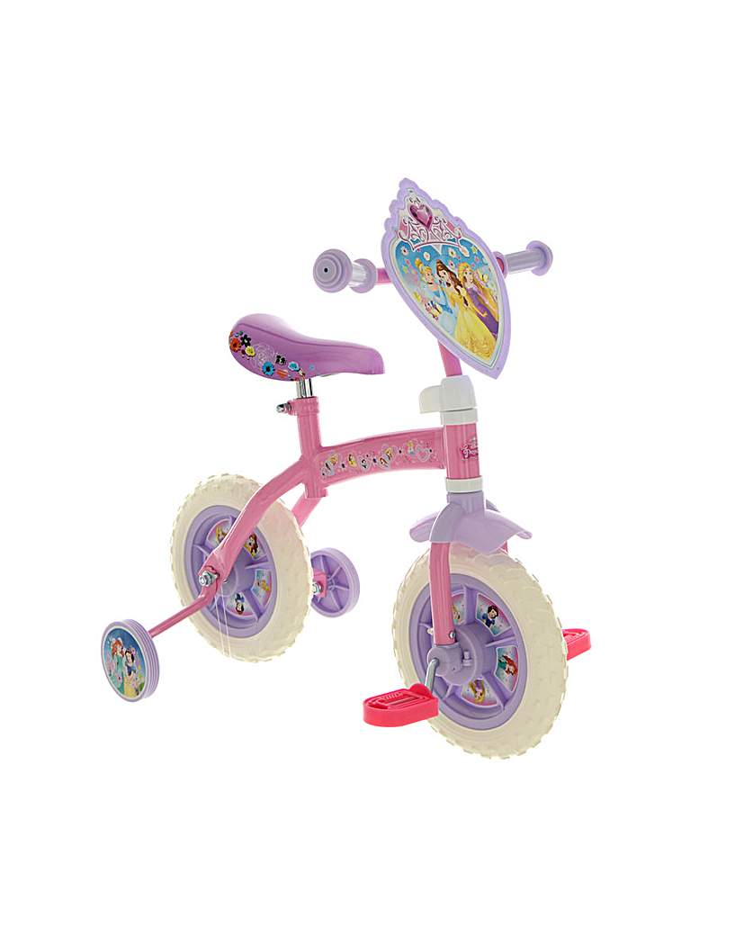 Disney Princess 2in1 Training Bike
