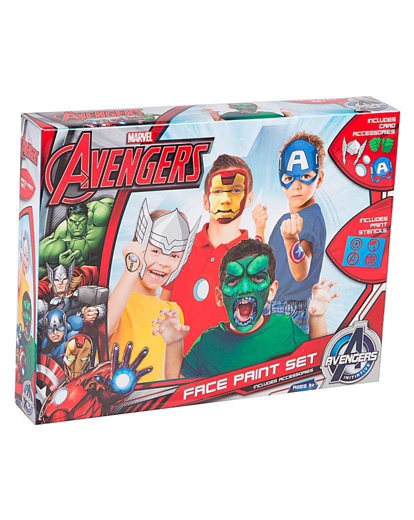 Marvel Avengers Face Paint Set