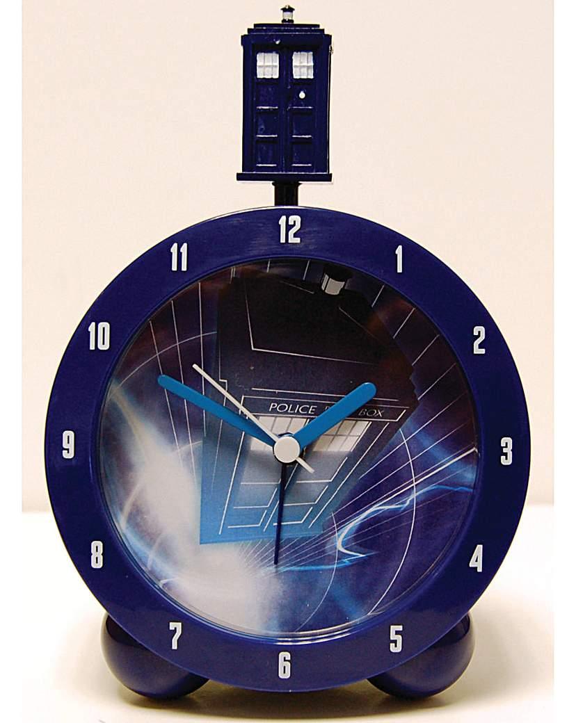 Image of Doctor Who Tardis Topper Alarm Clock