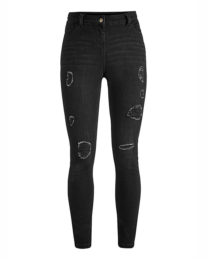Image of Simply Be Zoe Super Skinny Jeans Reg