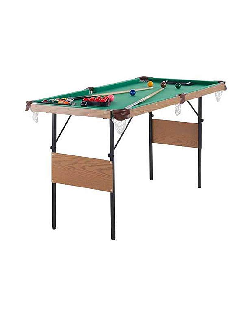 Image of Snooker and Pool Table - 4ft 6in