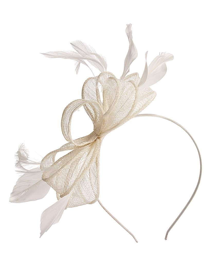 Image of Ivory Headband Style Fascinator