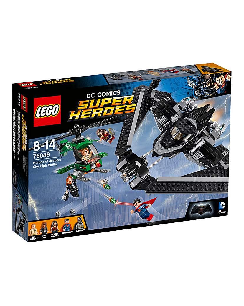Image of LEGO Batman vs Superman Sky Battle