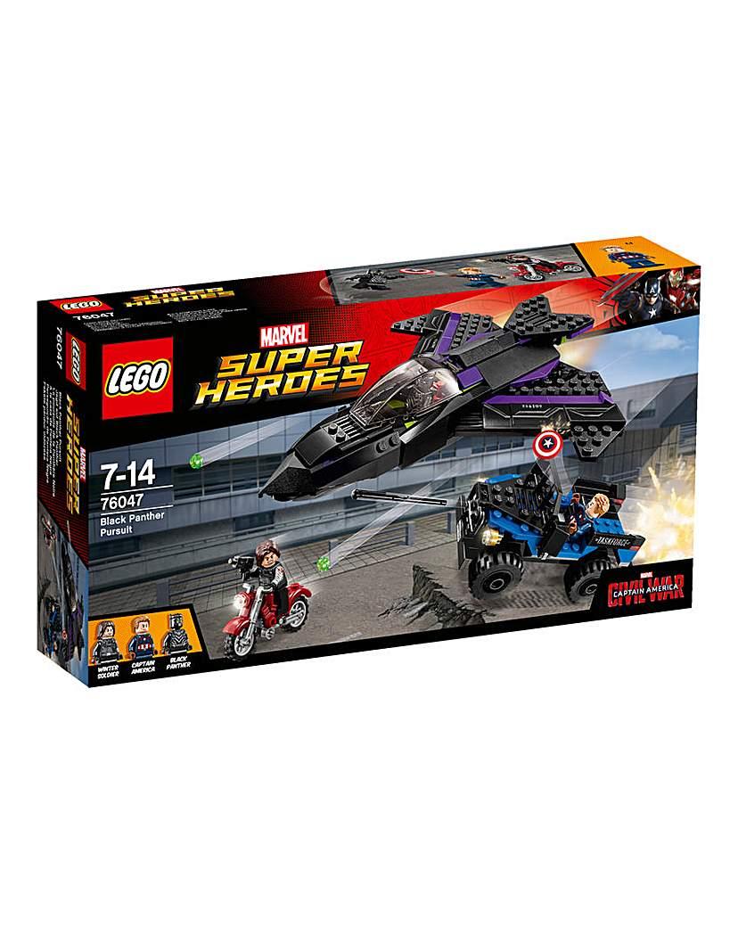 Image of LEGO Marvel Capt Black Panther Pursuit
