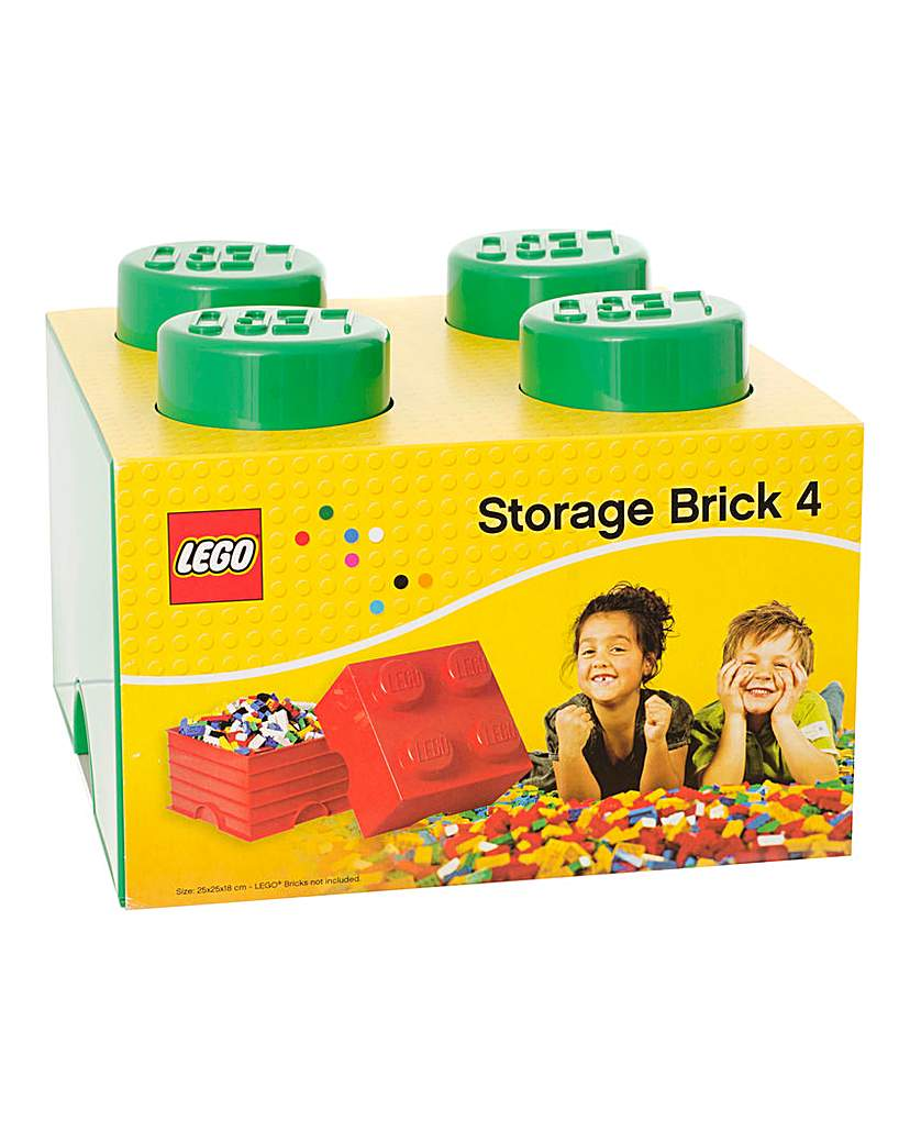 Image of LEGO Stackable Storage 4 Brick Box
