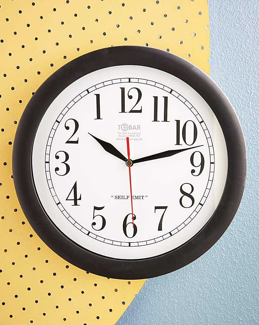 Image of Backwards Clock