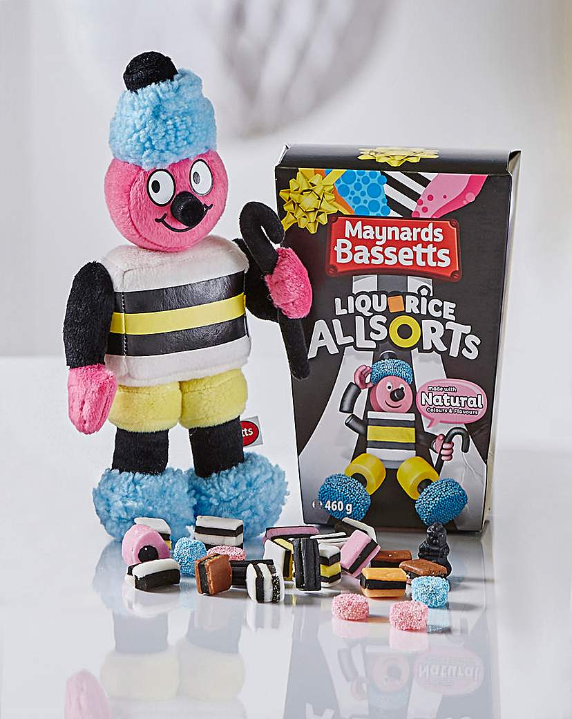 Image of Bassetts Allsorts Carton and Bertie Doll