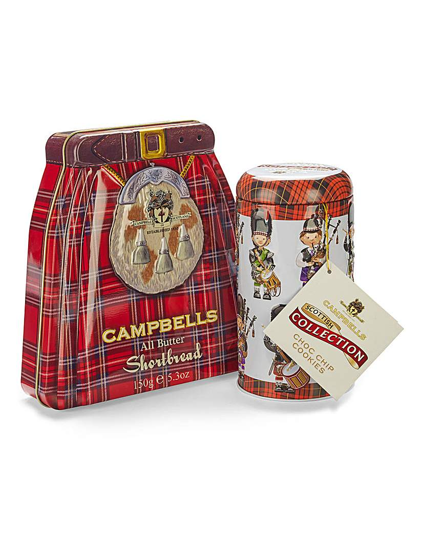 Campbell's Kilt Tin Set