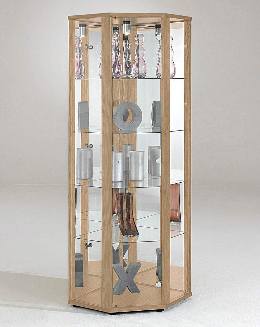 Image of Corner Glass Display Unit