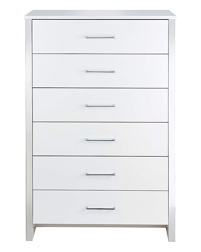 Image of Luna 6-Drawer Tall Chest
