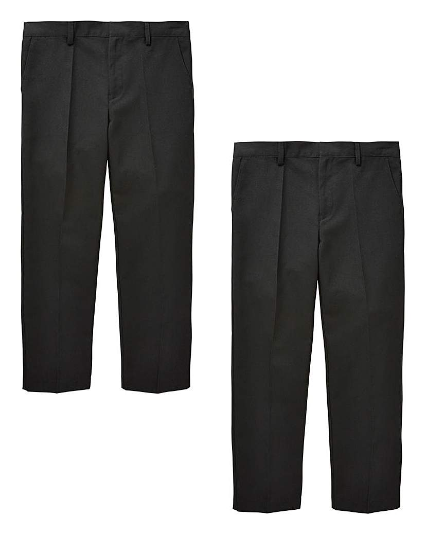 Boys Pack of Two Trousers