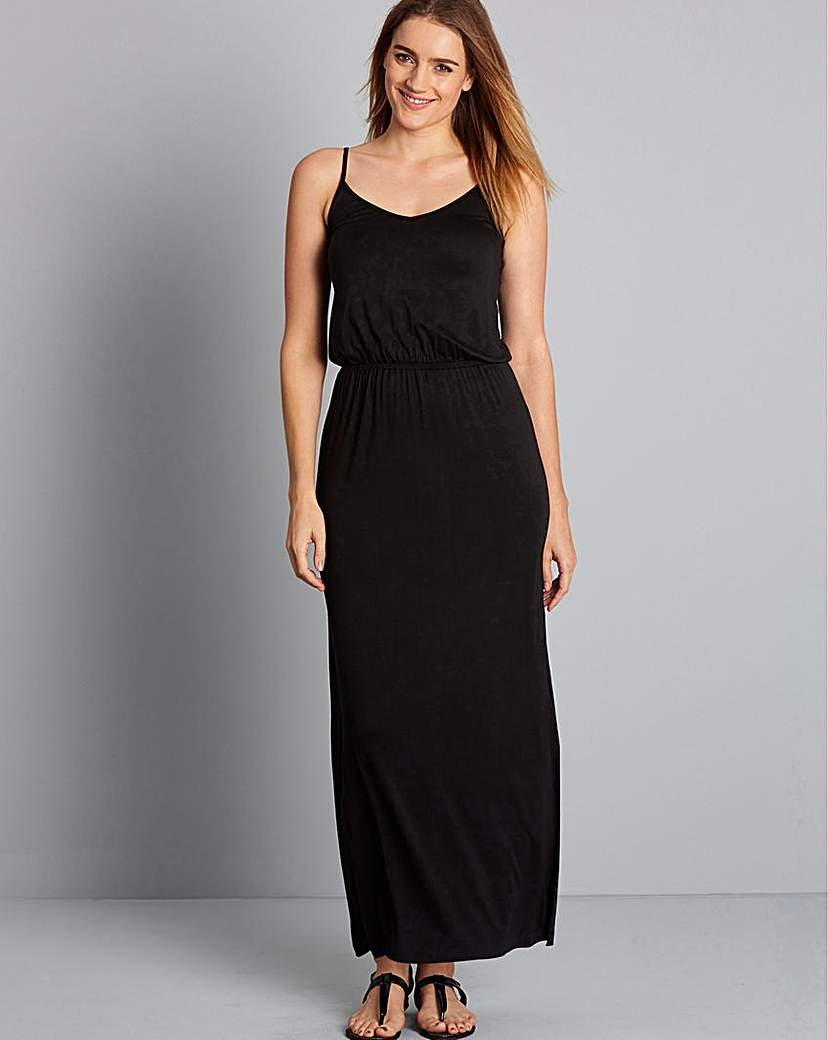 Image of Simply Yours Strappy Maxi Dress