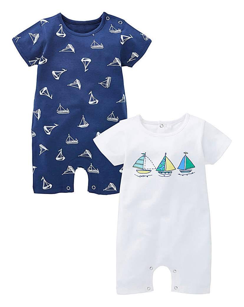 Image of KD Baby Boy Pack of Two Rompers