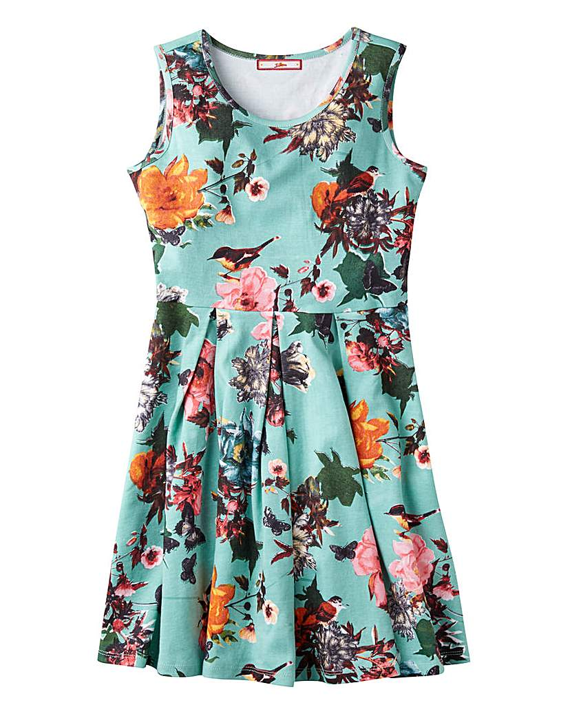 Image of Joe Browns Girls Floral Skater Dress