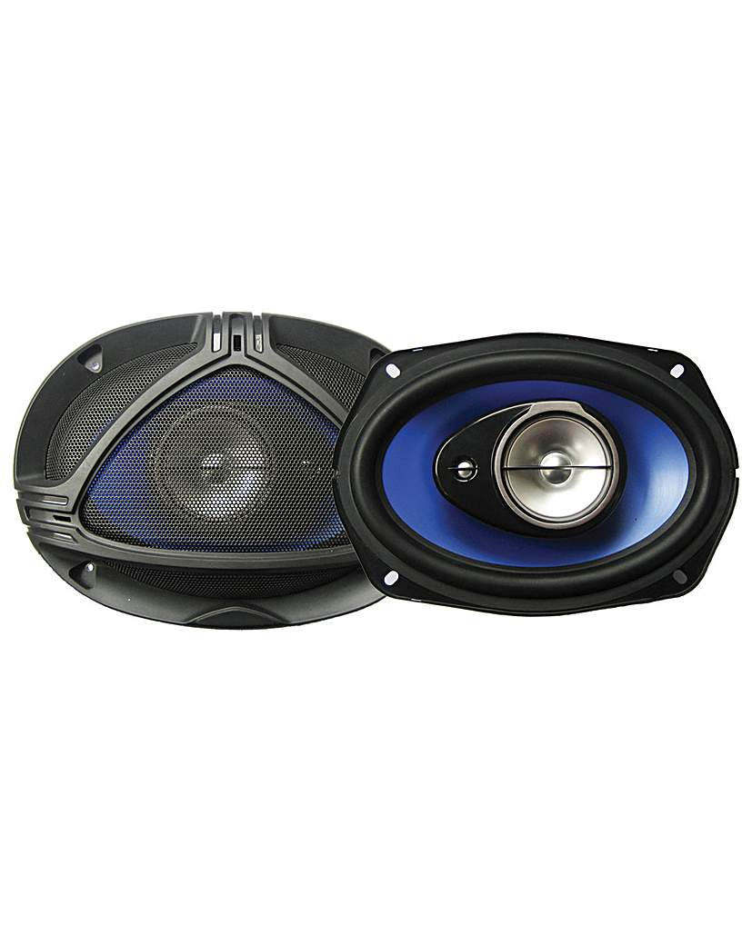 Pair 6x9' 25OZ Magnet Car Speakers