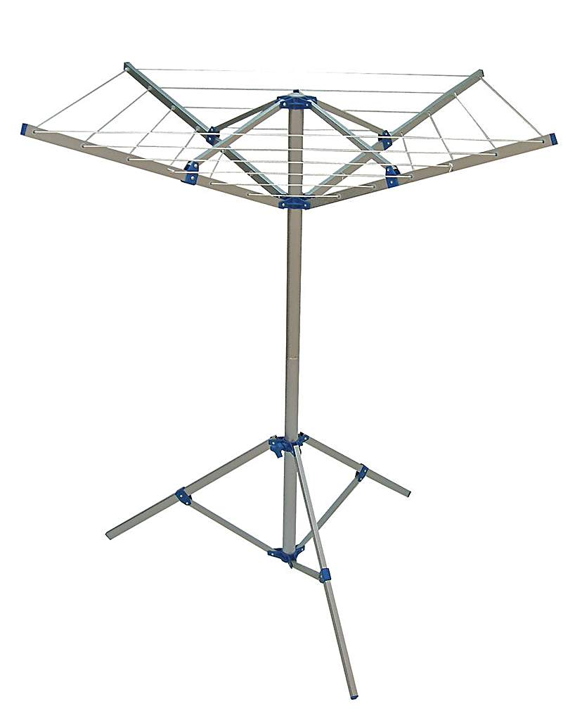 Image of 4 Arm Rotary Airer & Stand