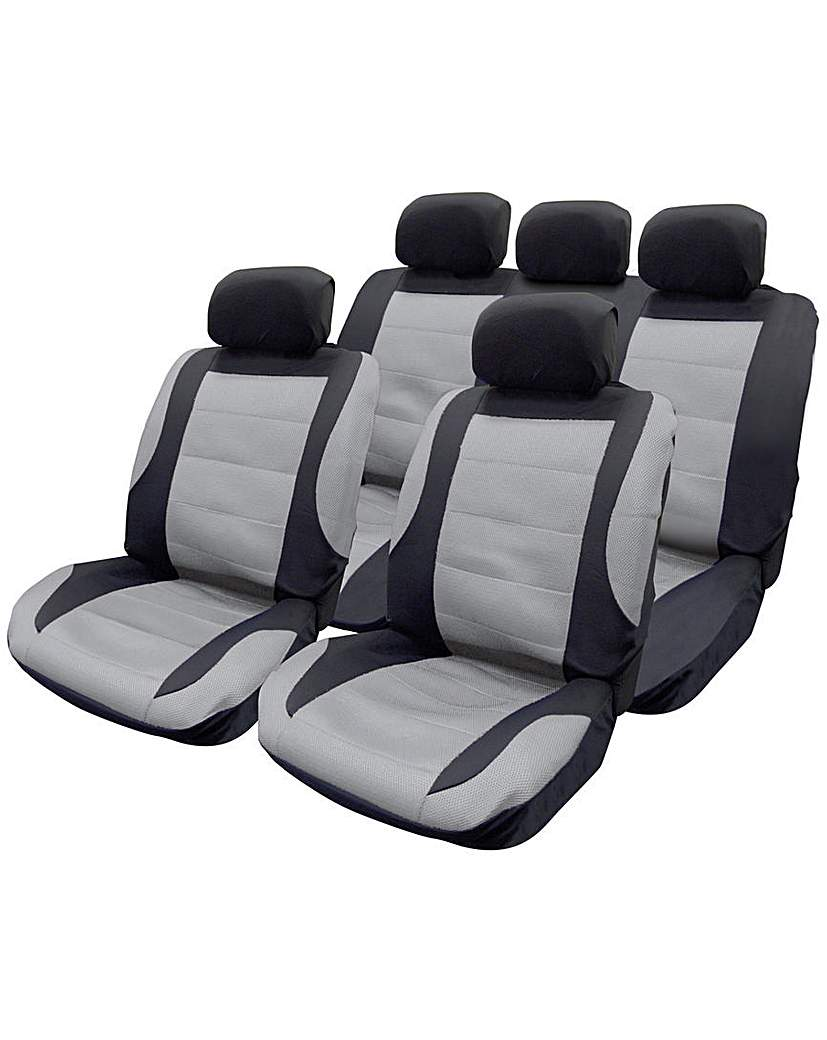Image of Mesh Seat Cover Set 5 Head Rests