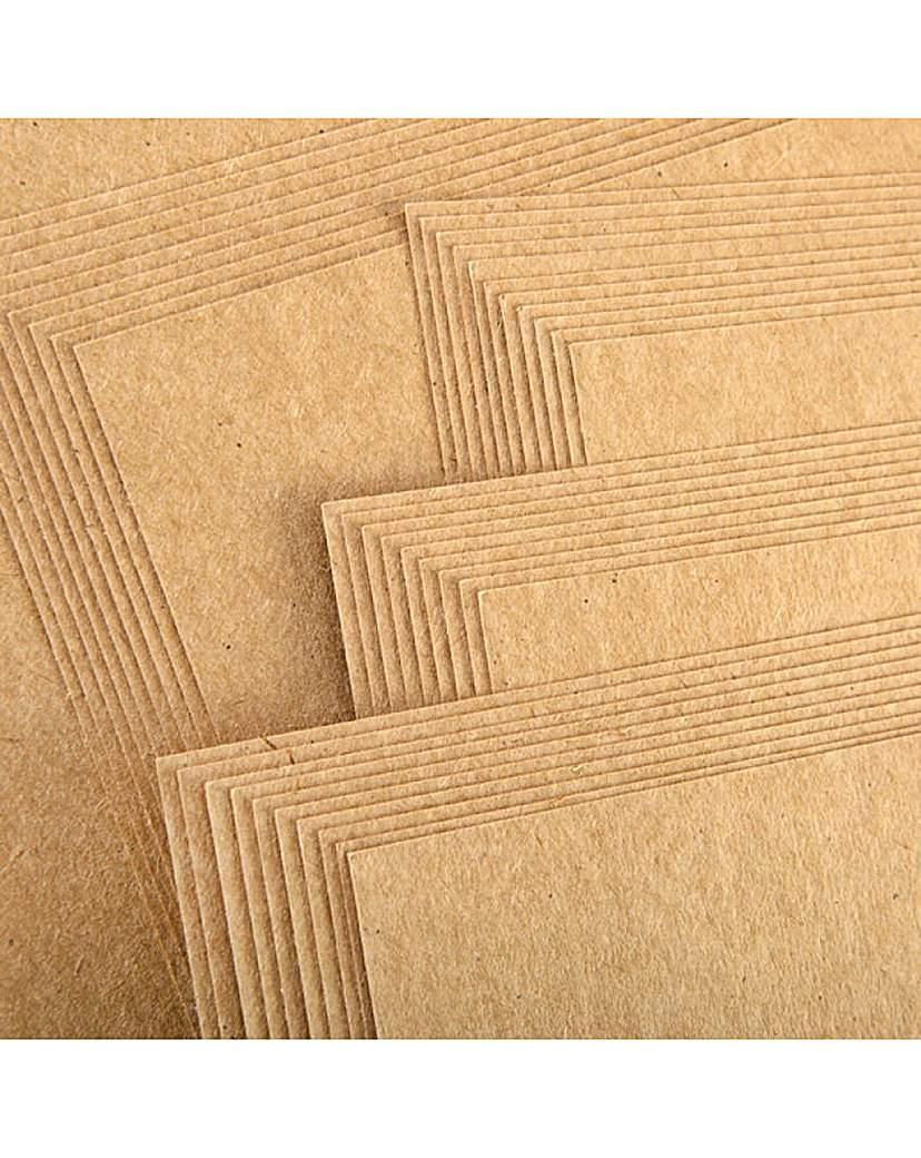 Image of A4 Kraft Brown Card