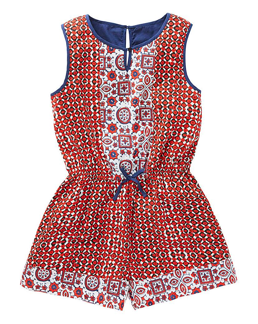 Image of Joe Browns Girls Tribal Print Playsuit
