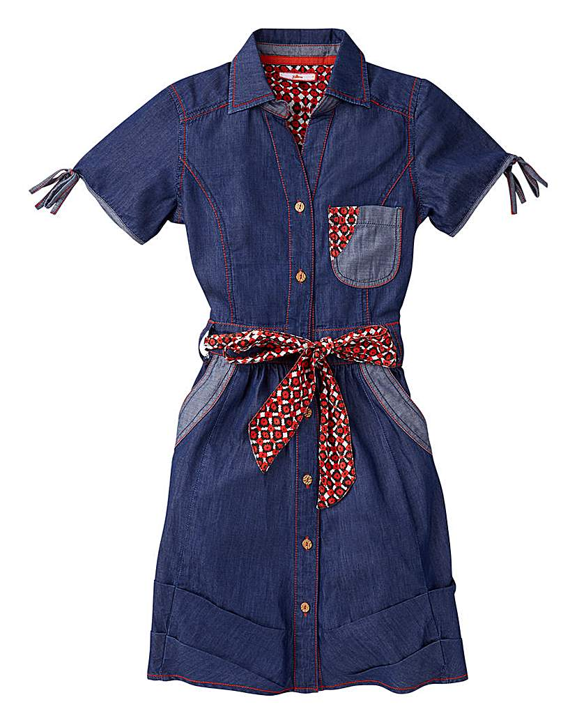 Image of Joe Browns Girls Denim Dress