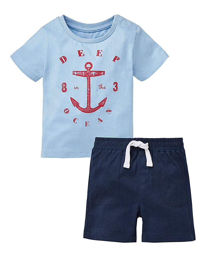 Image of KD Baby Boy and T-Shirt Set