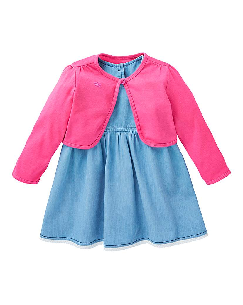 Image of KD Baby Girl Dress and Shrug
