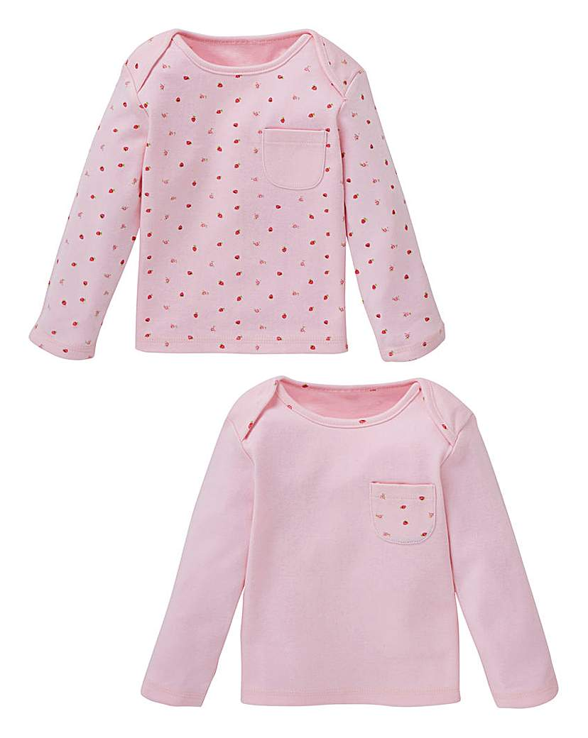 KD Baby Girl Pack of Two Strawberry Tops