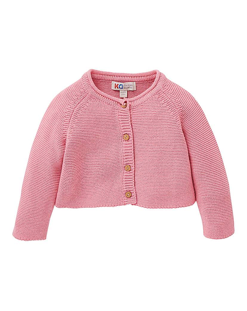 Image of KD Baby Girl Cropped Knitted Cardigan