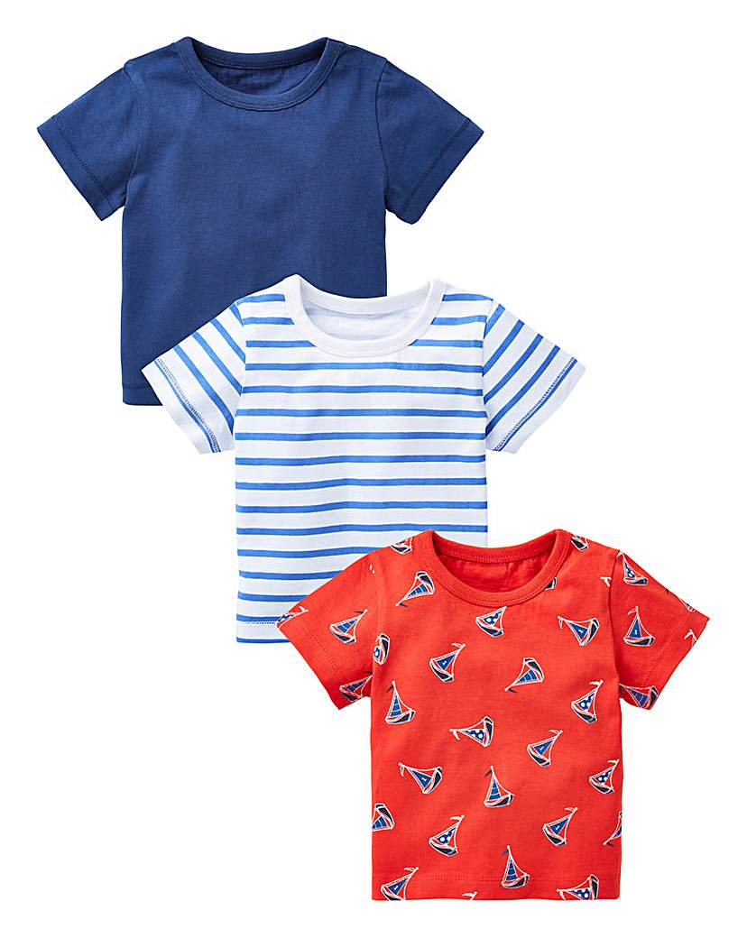 Image of KD Baby Boy Pack of Three T-Shirts