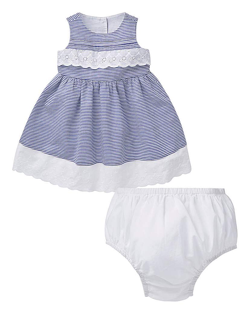 Image of KD Baby Girl Summer Dress and Knicker Se