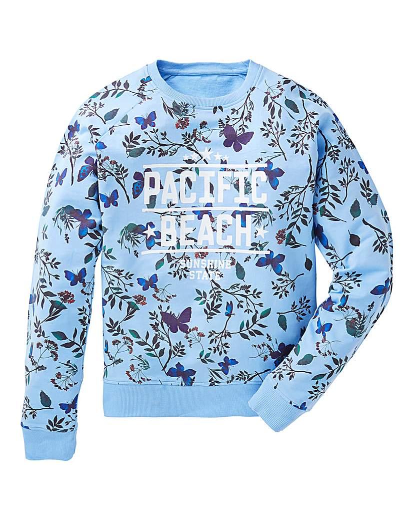 KD Girls Printed Sweatshirt