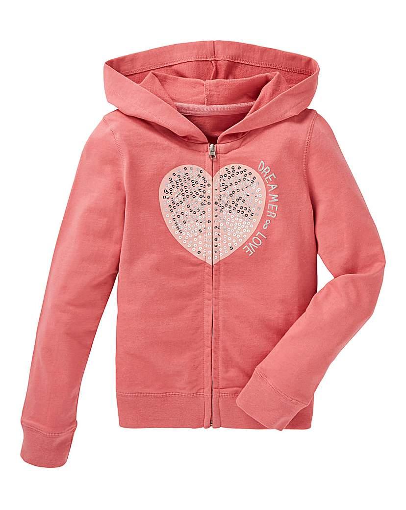 KD Girls Zip Front Sweatshirt