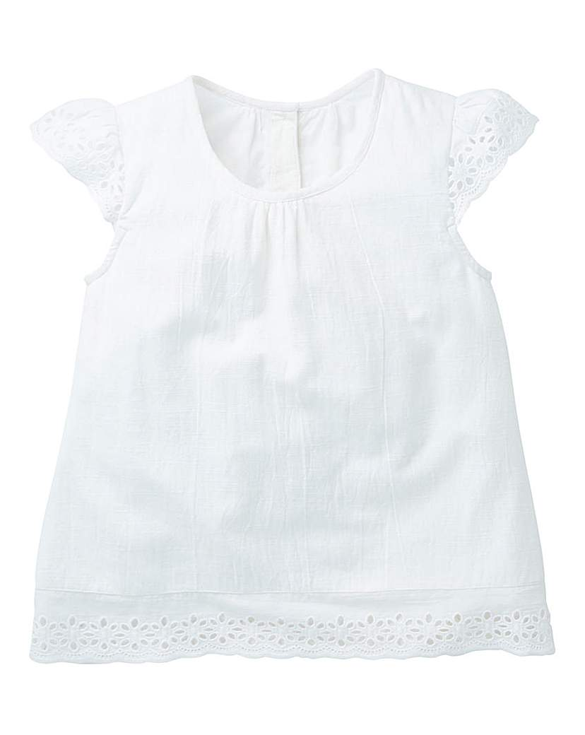 Image of KD Girls Broderie Blouse