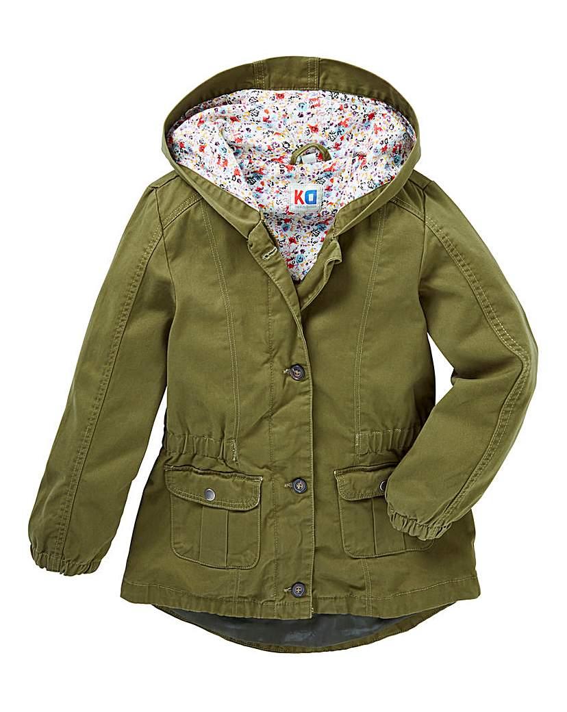 Image of KD Girls Cotton Parka Coat
