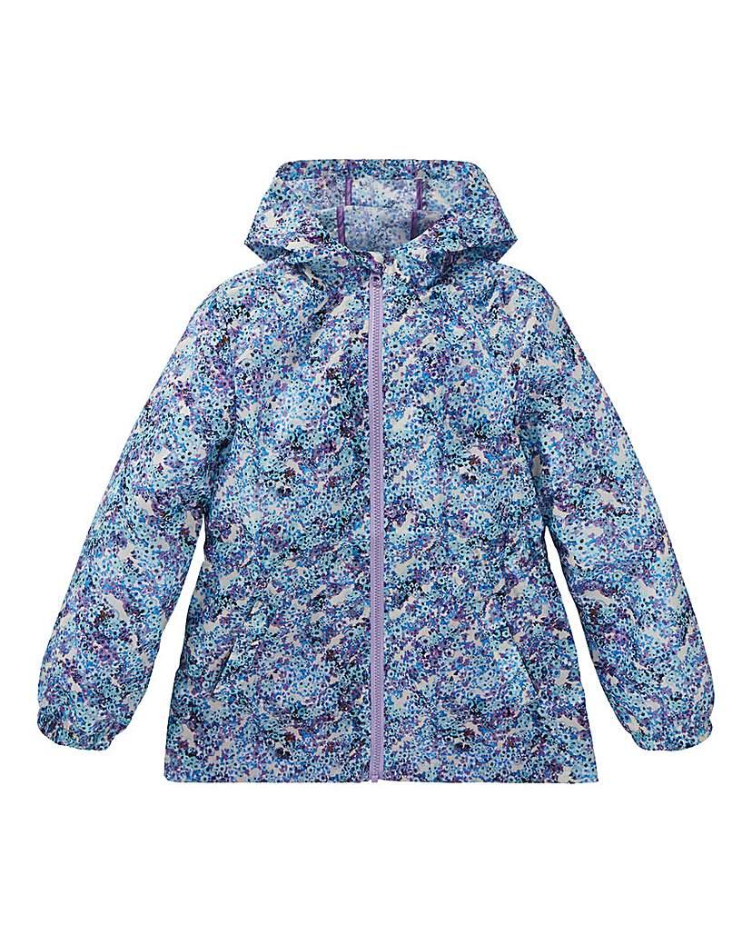 Image of KD Girls Floral Water Resistant Coat