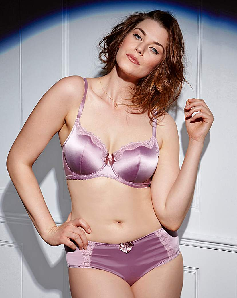 Always Aliza Satin Balcony Bra