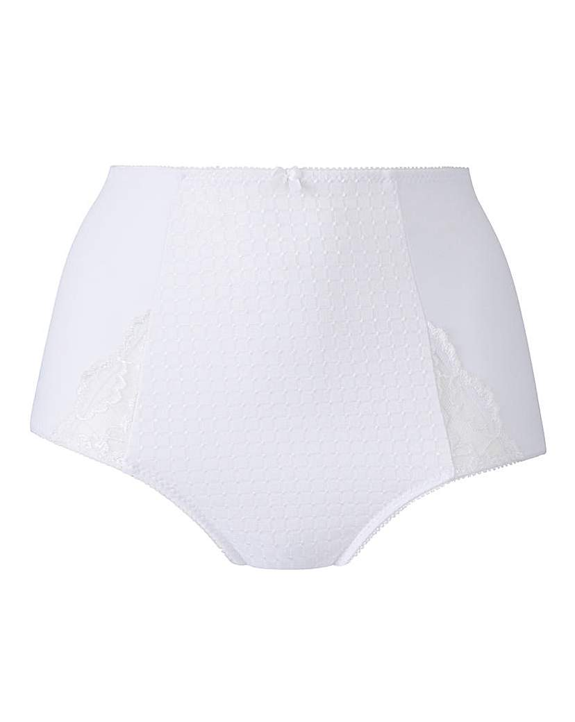 Ruby Full Fit White Briefs.