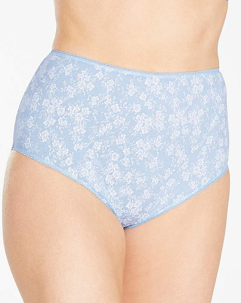 Image of 10 Pack Full Fit Floral Briefs