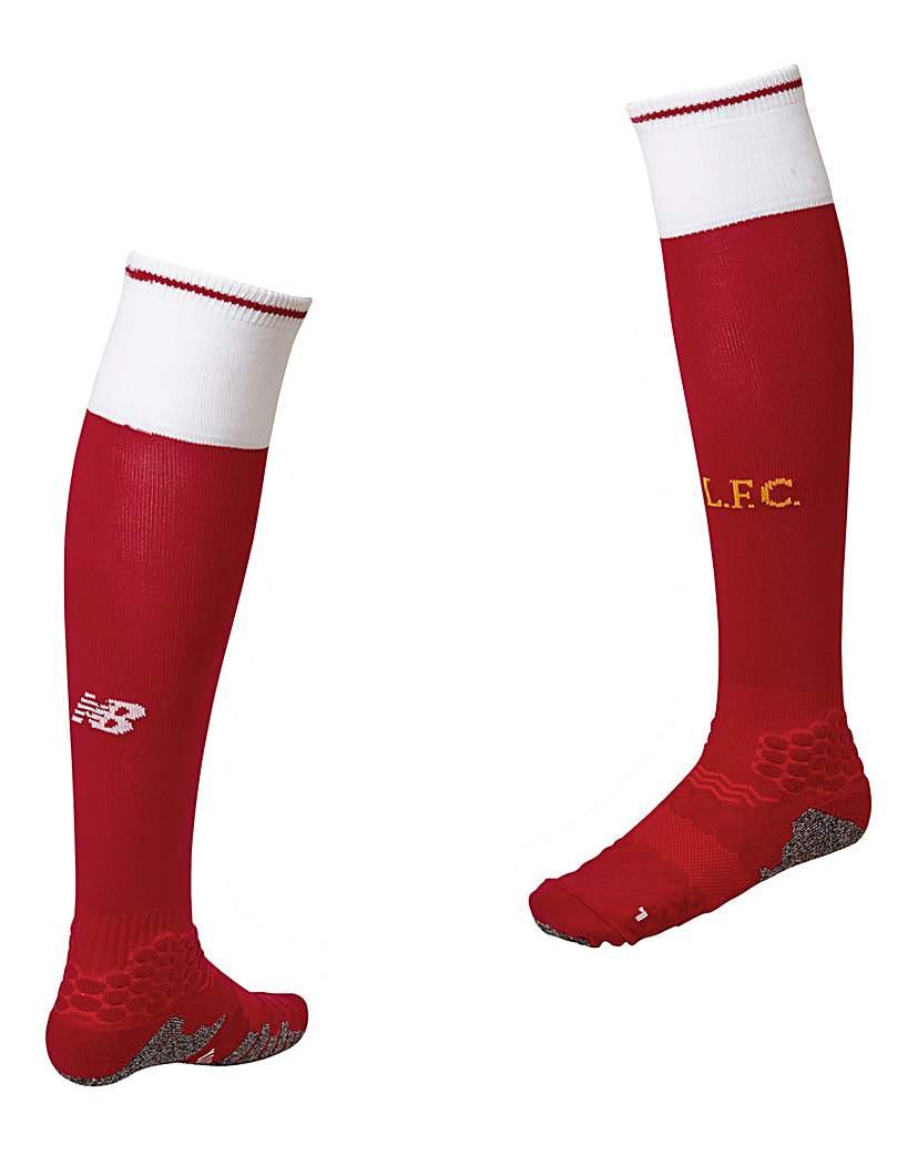 Image of New Balance Liverpool Boys Replica Socks