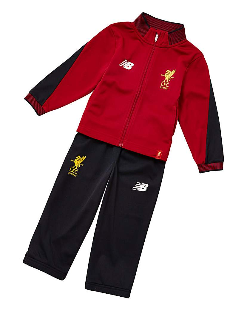 New Balance Liverpool Boys Train Re Suit