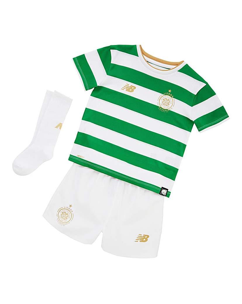 Image of New Balance Celtic Boys Home Replica Kit