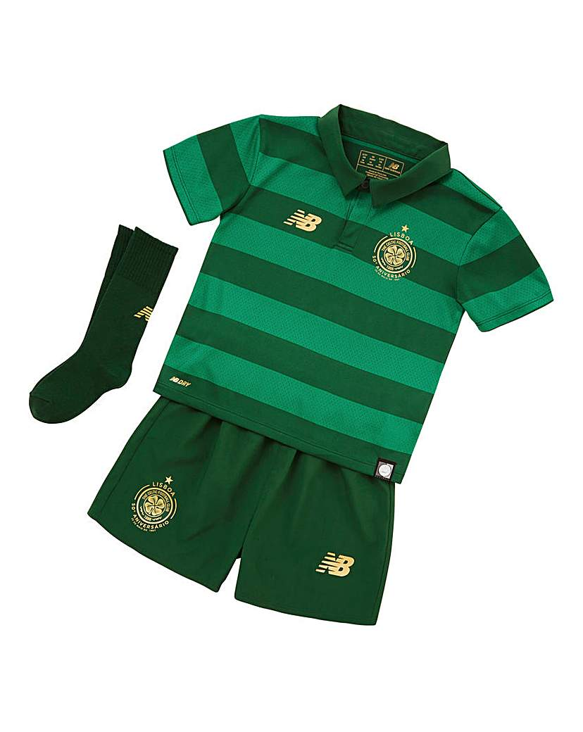 Image of New Balance Celtic Boys Away Replica Kit